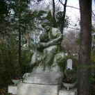 Góthné Kertész Ella és Góth Sándor síremléke