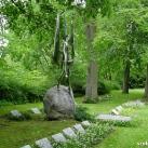 Angyal, a második világháborús lengyel áldozatok és menekültek emlékműve