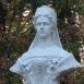 Erzsébet királyné mellszobra