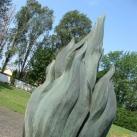 Román sírkert emlékműve