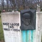 Nagy Lajos író és felesége, Szegedi Boris írónő síremléke
