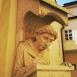 Pannonhalmi Szent Mór szobra