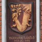 Egervári László-emlékmű