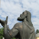 Szent István Szűz Mária kegyeibe ajánlja Magyarországot