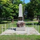 A világháborúkban és 1956-ban elesettek emlékműve