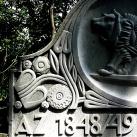 Az 1848–49-es  szabadságharc zsidó vallású honvédeinek katonai sírja
