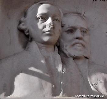 Péczely József ifj. és Tóth Lőrincz-emléktábla