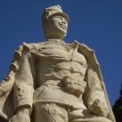 A császári és királyi 10. huszárezred emlékszobra
