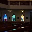 Szentek és boldogok üvegablakai