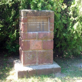 125 éve épült az első zsilip-emléktábla
