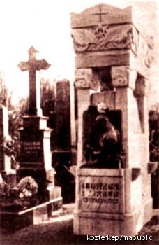 Lukács Béla síremléke