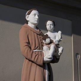 Páduai Szent Antal Szűz Máriával