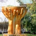 """""""3 kéz"""" II. világháborús emlékmű"""