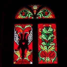 Nagykállói református templom üvegablakai 1.