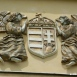 Magyar címer angyalokkal
