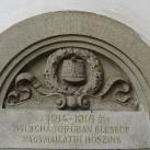 I. világháborús-emléktábla