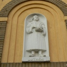 Luther Márton-dombormű