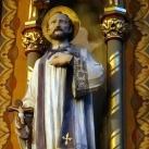 Xavéri Szent Ferenc-oltár szobra