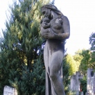 Strache Gáborné, Bauss Edina síremléke