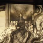'Somogy múltja és jelene' porcelánfal