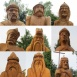 Honfoglalás és megmaradás-szoborcsoport