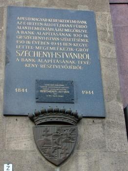 Gróf Széchenyi István-emléktábla