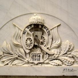 I. világháború: honvéd lovas tüzérosztályok emléktábla