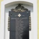 Rábakovácsi I. világháborús emléktábla