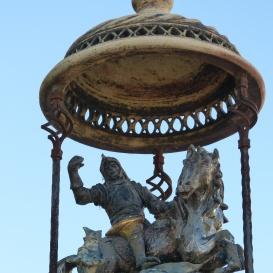 Szent György és a sárkány kút