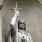Szent István és Szent László szobra