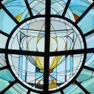 A budapesti Szent Gellért templom üvegablakai