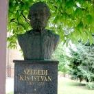 Szegedi Kis István mellszobra