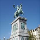 II. Vilmos luxemburgi nagyherceg lovas szobra