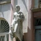 Várakozók-szobor