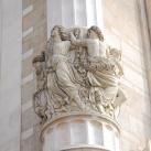 A pesti Vigadó homlokzati oszlopainak frízei