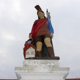 Szent Flórián szobra
