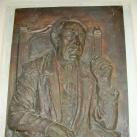 Móra Ferenc portrédomborműve