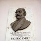 Benkó Imre-emléktábla