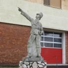 A tűzoltó szobra