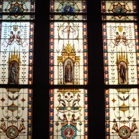 Országház – Delegációs folyosó üvegablakai
