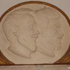 Kossuth és Petőfi relief