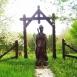 Szent György vitéz szobra