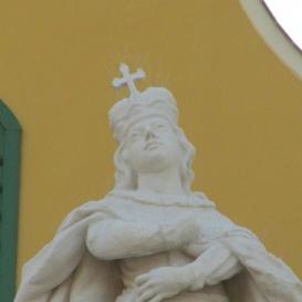 Szent István Székesegyház épületszobra III. - Szent Imre
