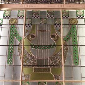 A Zeneakadémia nagytermének üvegablakai