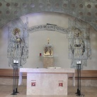 Boldog Meszlényi Zoltán és Szent Adalbert mozaik oltárkép