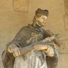 Gloriette, Nepomuki Szent János szobrával