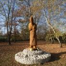 Szent II. János Pál pápa-szobor