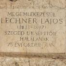 Lechner Lajos-emlékkő