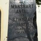 Szikszay–Mansbart-emlékmű