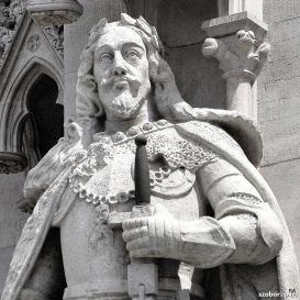 Országház - nyugati homlokzat: Habsburg (III.) Ferdinánd